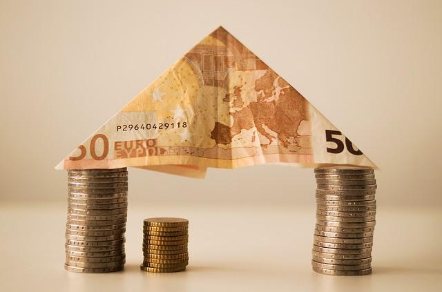 střecha z peněz