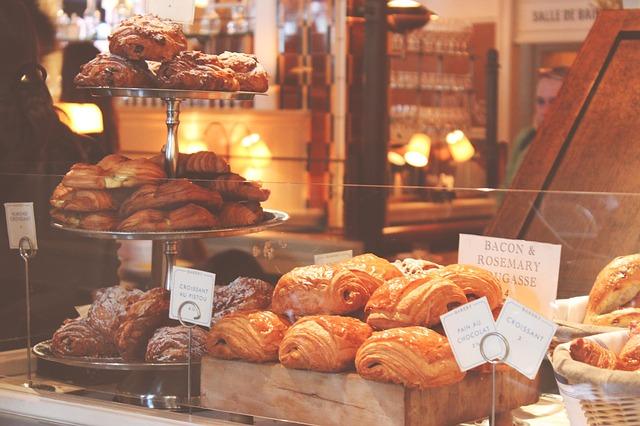 vnitřek pekařství