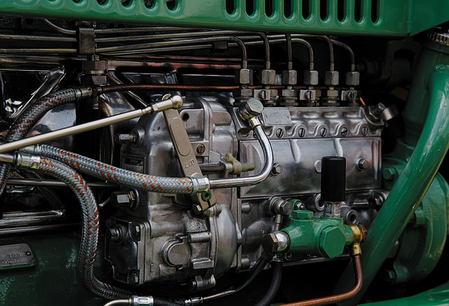 Detail motoru