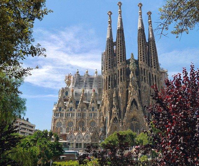 chrám, Barcelona