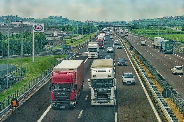 dálnice kamiony