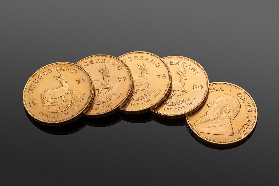 jihoafrické mince